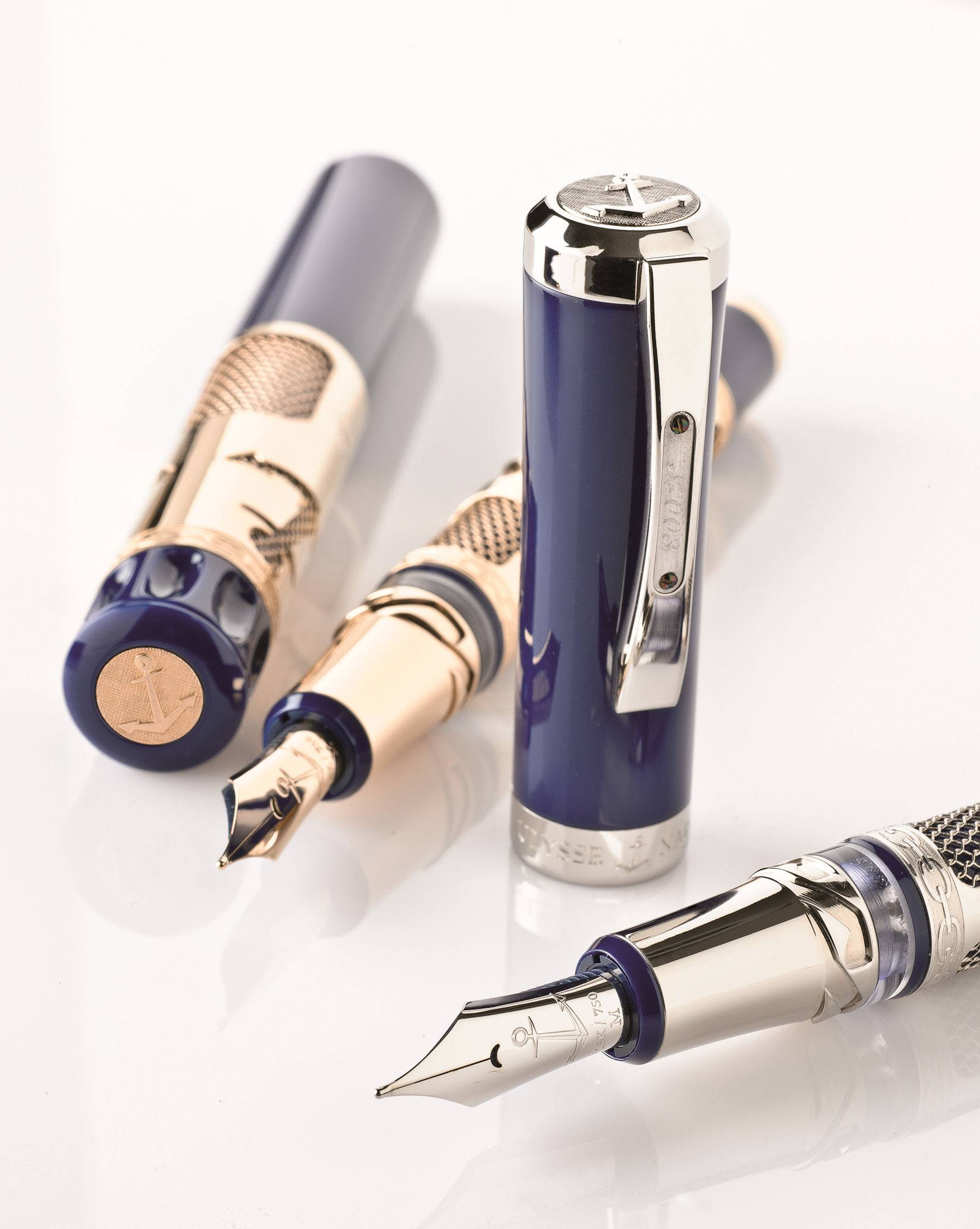Haute Time: Unique Fountain Pen Created by Ulysse Nardin and Visconti