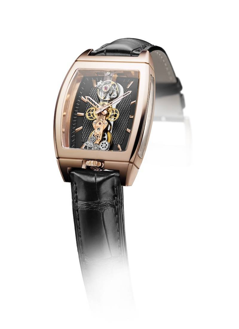 BRIDGE TO TOMORROW: THE CORUM GOLDEN BRIDGE TOURBILLON WITH SAPPHIRE BRIDGE