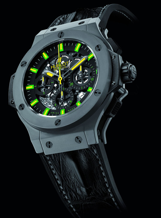 Hublot Pays Tribute To Brazil and Oscar Niemeyer