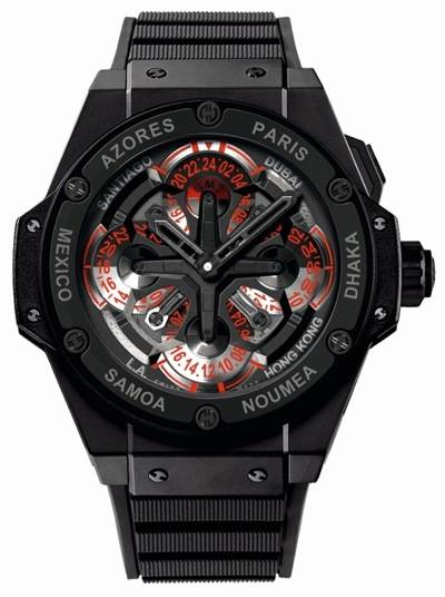 The Hublot King Power Unico GMT