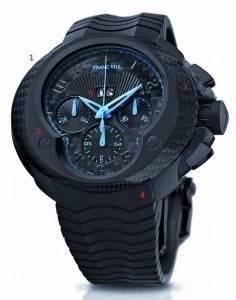 Haute Timepieces: Franc Vila FV Evos 8 Cobra Blue Bandido Watch