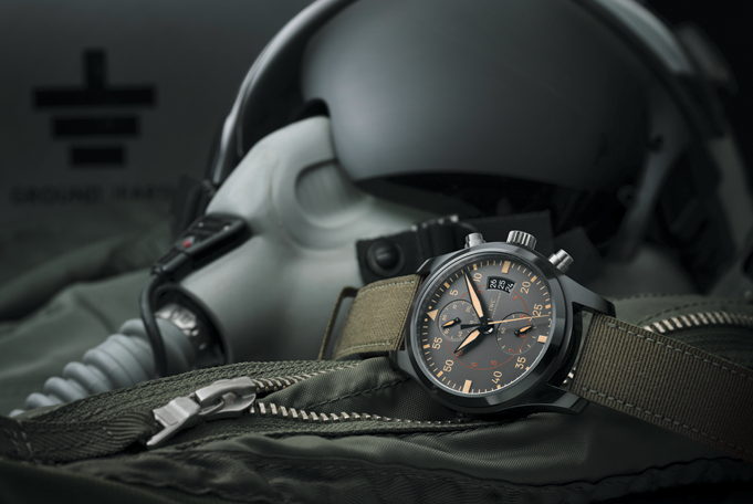 "IWC Schaffhausen Launches the ""TOP GUN"" Watch Collection At SIHH"