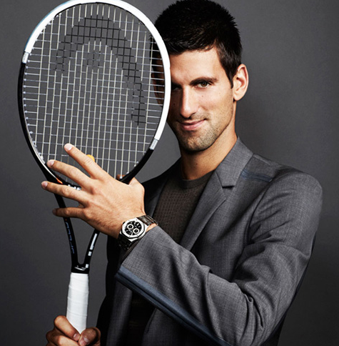 Luxury Timepieces Find a Home on the Courts