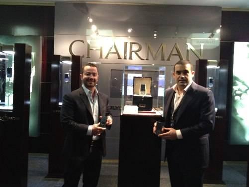 Basel World: Inside Tour Of The Ulysse Nardin Chairman Phones With Creator Bobby Yampolsky And Ulysse Nardin CEO Patrik P. Hoffmann