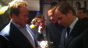 Basel World 2012 Day 1 With The Zenith Team And Arnold Schwarzenegger