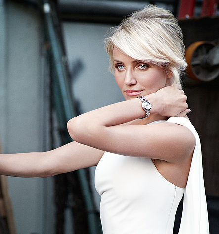 Cameron Diaz Revealed as TAG Heuer's New Link Lady