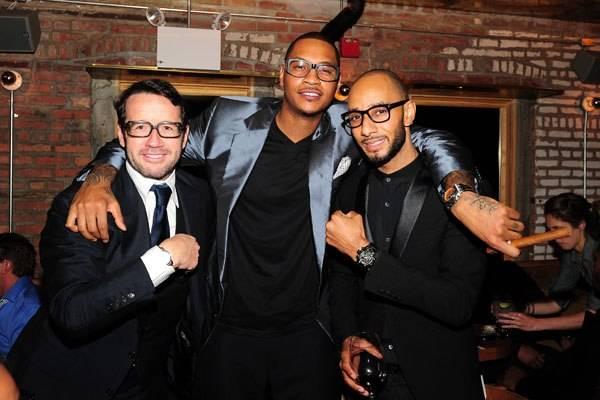 Audemars Piguet Dinner Honoring New York Knicks' Carmelo Anthony In New York City