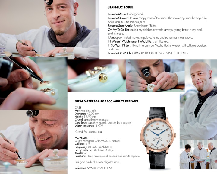 New Face Of Tradition: Girard-Perregaux's Young Watchmakers