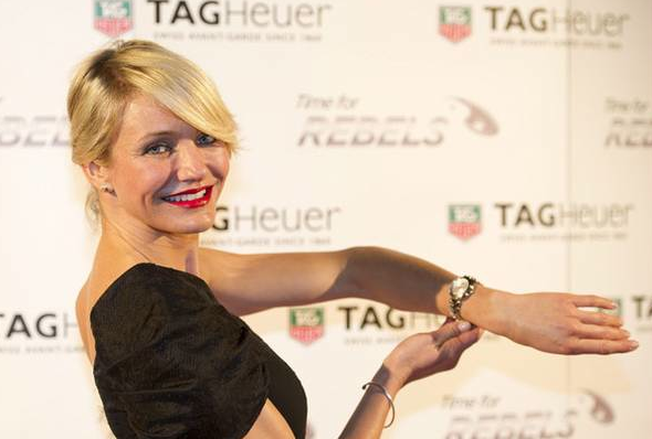 Brand Ambassador Cameron Diaz Says A TAG Heuer Was Her First Luxury Timepiece