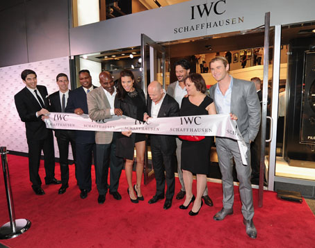 IWC Opens U.S. Flagship And Lanches Limited Edition Muhammad Ali Timepiece