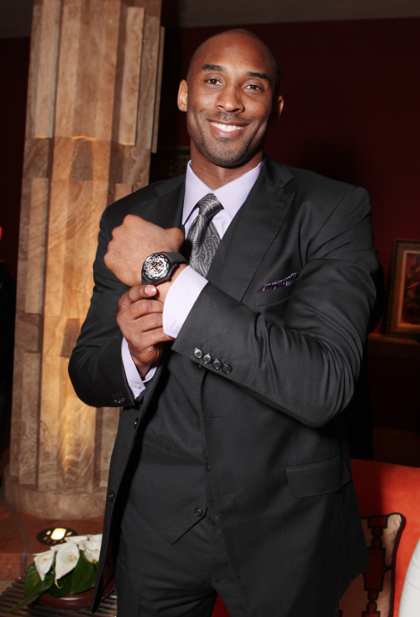 Girard-Perregaux Partners with Kobe Bryant For Fundraiser