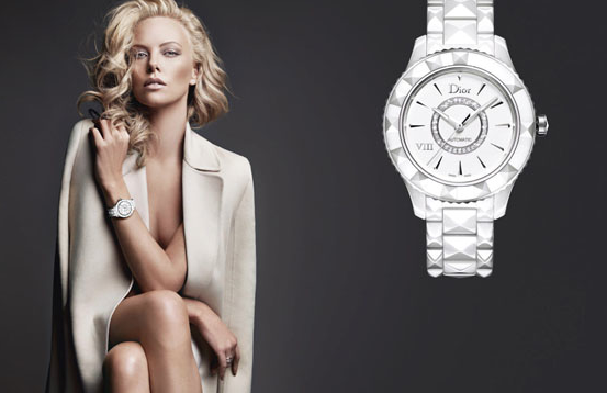 First Look At Charlize Theron For Dior Timepieces
