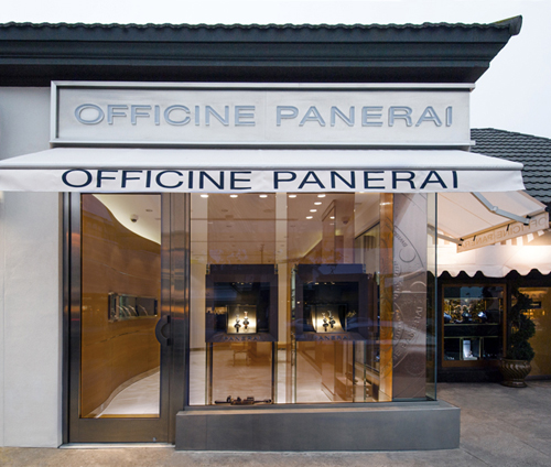 It's About Time: Officine Panerai Opens Boutique in La Jolla
