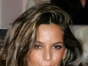 Celebrity Corner: Alessandra Ambrosio, Super Model, wearing a very modest Steel Rolex Oyster Perpetual Date