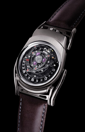 Eric Giroud, MB&F and Urwerk Present the ZR012 Watch