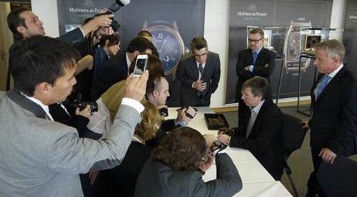 Maîtres du Temps' Newest Releases via Basel 2012