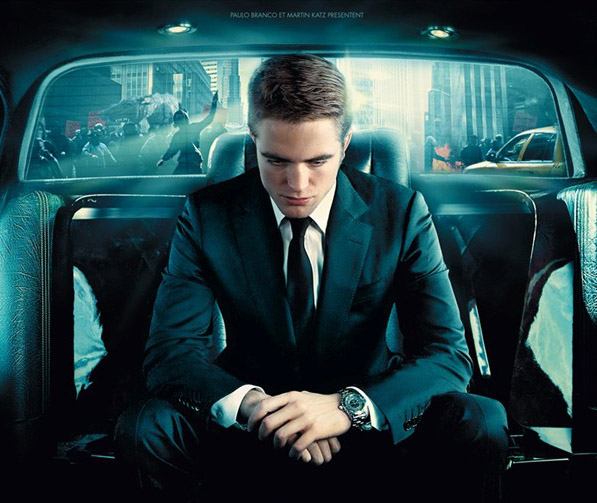 Robert Pattinson Wears Chanel J12 Chromatic in 'Cosmopolis'