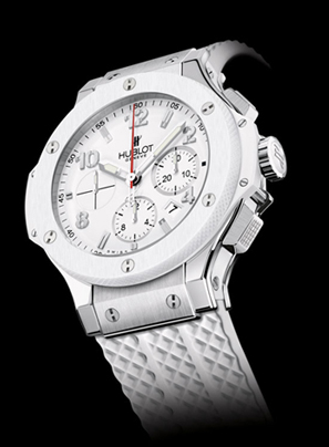 Hublot Presents the HEAT with Congratulatory White Hot Big Bang Timepieces