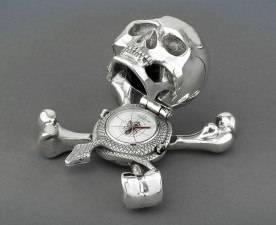 Corum Skeletal Desk Clock a Rarity the World Over
