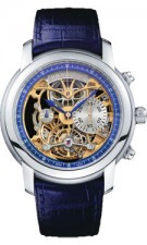 Haute Time Watch of the Day: Jules Audemars Skeleton Chronograph Tourbillon