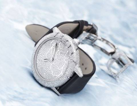 Jaeger-LeCoultre Paves Rendez-Vouz Art Model With Diamonds