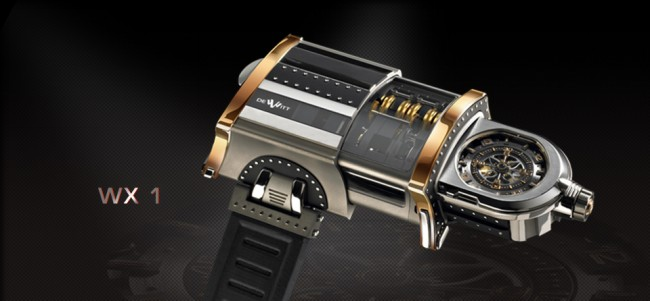 Haute Time Watch of the Day: WX-1 Luxury Watch Concept from Dewitt