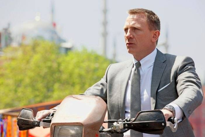 "Omega and Bond Crash Into Theaters This November with ""Skyfall"""