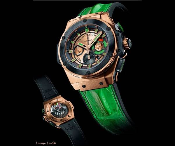 Hublot Set to Auction One-of-a-Kind Watches to Benefit Boxing