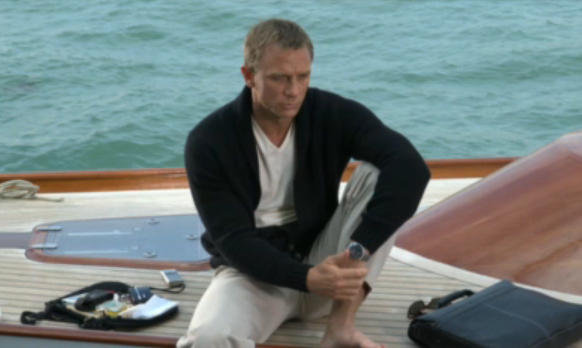 Omega President Discusses Partnership with James Bond
