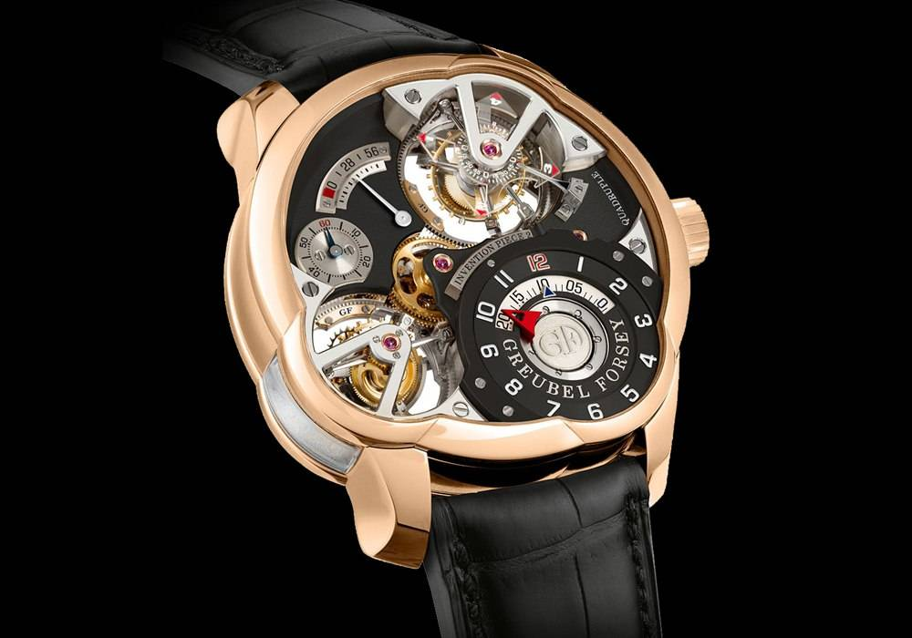 Haute Time Watch of the Day:  Greubel Forsey Quadruple Tourbillon