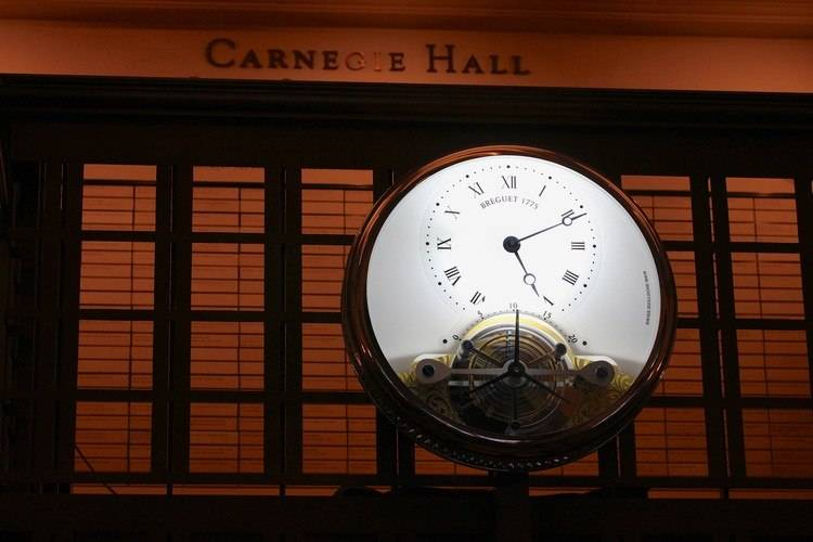 Carnegie Hall Unveils Exclusive Breguet Timepiece at Opening Gala
