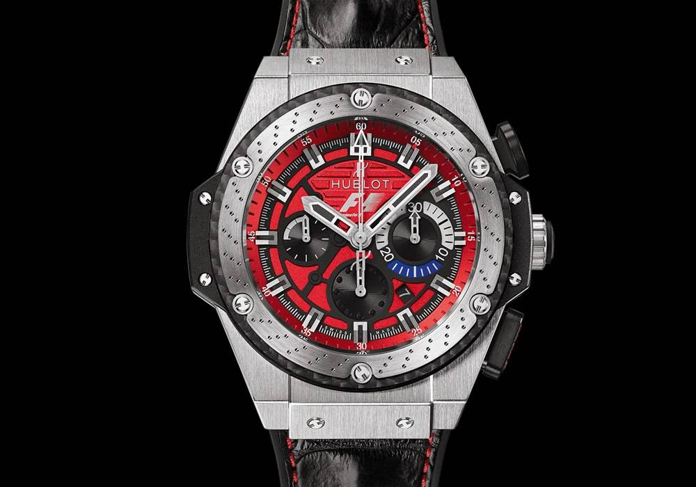 Fast Track: Hublot Unveils the F1 King Power Austin