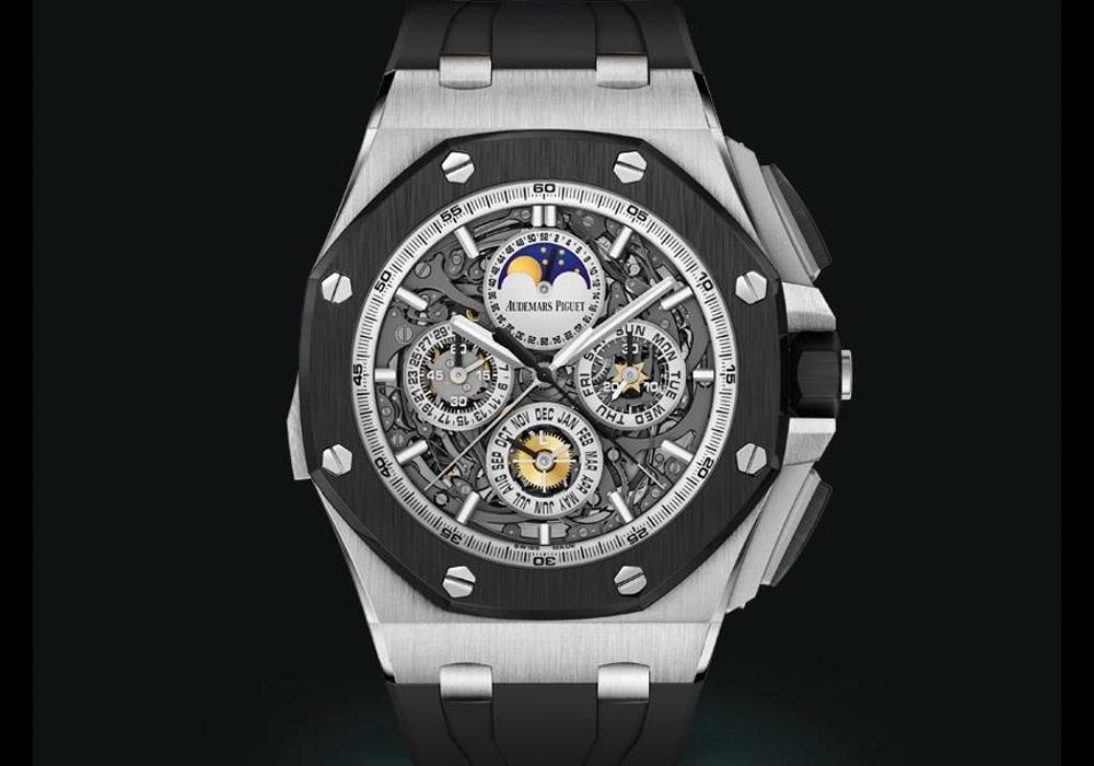 Carmelo Anthony's Haute Time Watch of the Day:  Audemars Piguet Royal Oak Offshore Grande Complication Titanium