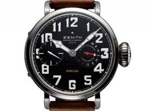 Carmelo Anthony's Haute Time Watch of the Day:  Zenith Montre d'Aeronef Type 20