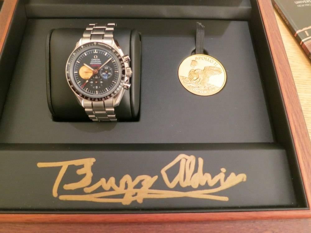 Buzz Aldrin Watch Accutron Astronaut Limited Edition ...