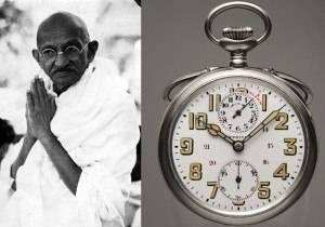 An Intimate Look at Gandhi's Zenith Pocket Watch