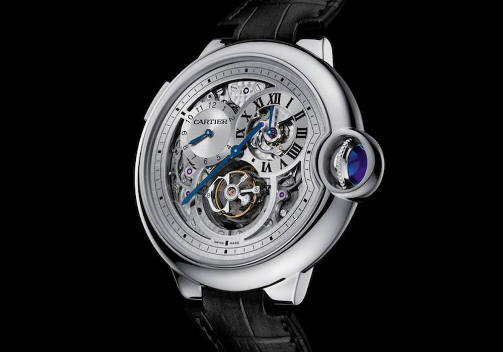 Cartier's Ballon Bleu de Cartier Tourbillon Double Jumping Second Time Zone