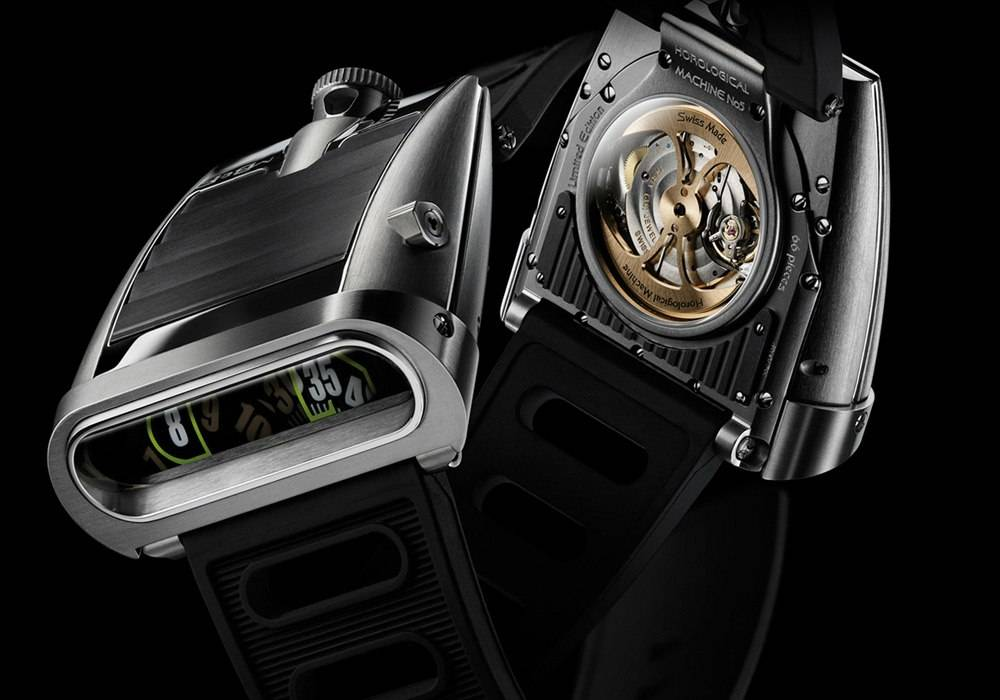 MB & F Making Tracks With HM5 On the Road Again