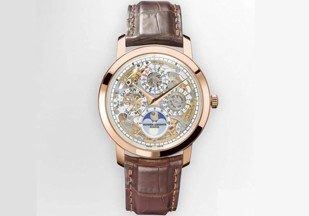 Carmelo Anthony's Haute Time Watch of the Day: Vacheron Constantin Patrimony Traditionelle Openworked Perpetual Calendar