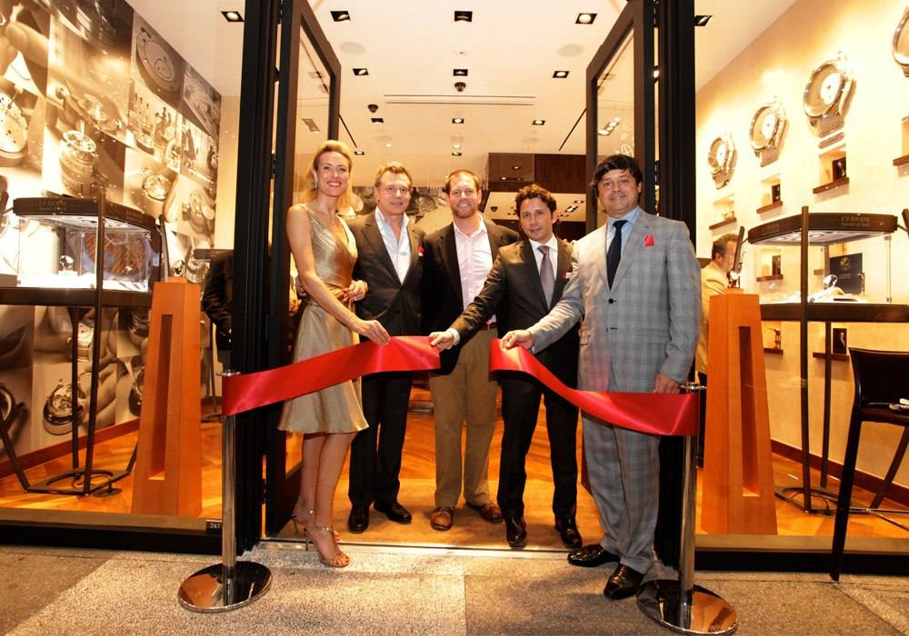 François-Paul Journe Cuts the Ribbon at F.P. Journe's New Miami Boutique