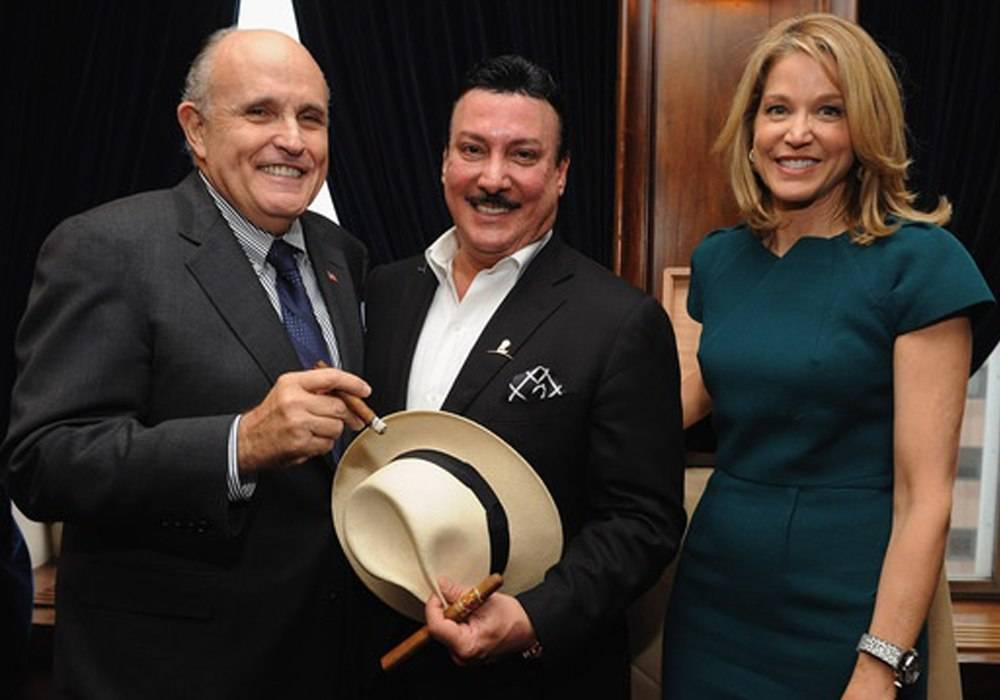 Giuliani Helps Hublot Launch NYC King Power Arturo Fuente