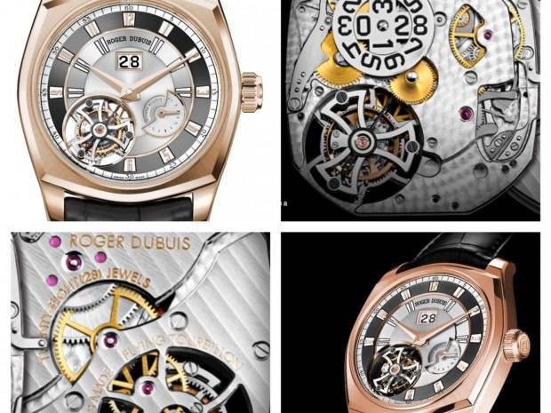 Carmelo Anthony's Haute Time Watch of the Day:  Roger Dubuis La Monegasque Tourbillon Volant