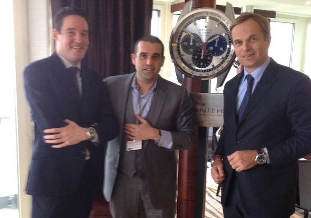 Haute Time Joins Jean-Frédéric Dufour and Roland Enderli to View ZENITH's New Watches