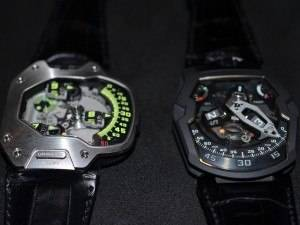 Haute Time talks to Martin Frei of Urwerk; Checks Out Two New De Bethune Watches; Visits with Christophe Claret in Geneva