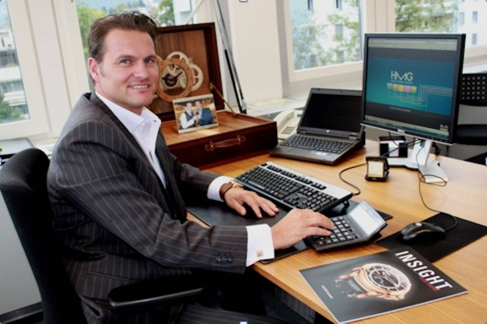 What's On My Desk: Sascha Moeri, CEO of Carl F. Bucherer