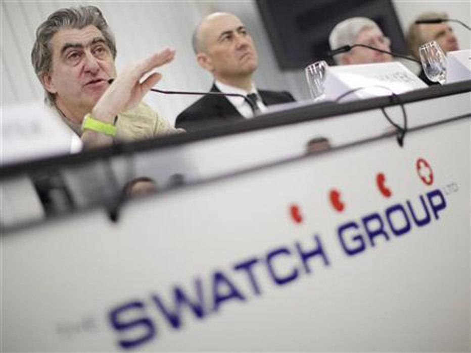 Swatch Group Increased Sales by $1 Billion Last Year