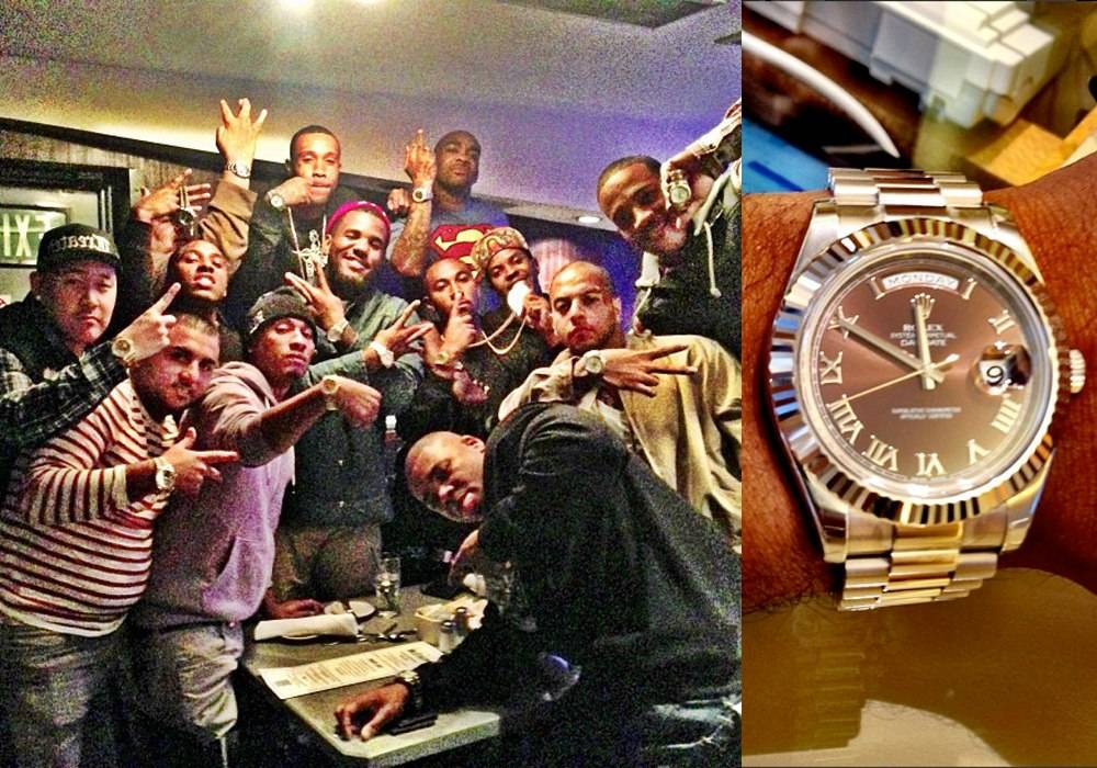 Luxe Gift: Rapper The Game Buys 12 Friends Rolex Watches