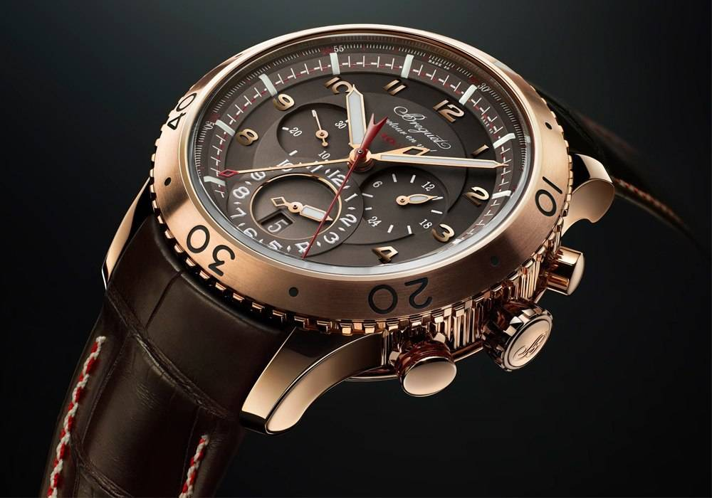 "Breguet Unveil ""Pre-Basel"" Type XXII Rose Gold Timepiece"