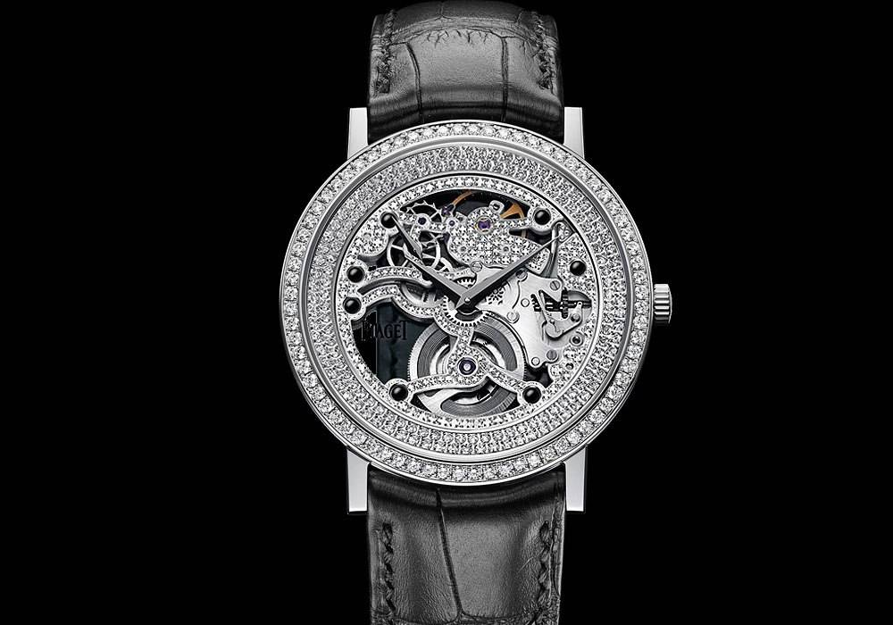 Carmelo Anthony's Haute Time Watch of the Day:  Piaget Altiplano Skeleton