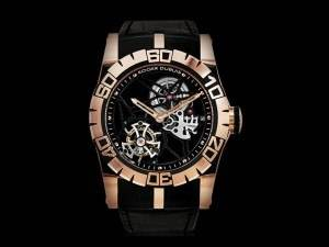 Carmelo Anthony's Haute Time Watch of the Day: Roger Dubuis Easy Diver Skeleton Flying Tourbillon